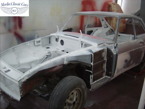 MGB GT Race Car Restoration 1967 32