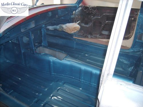 MGB GT Race Car Restoration 1967 37