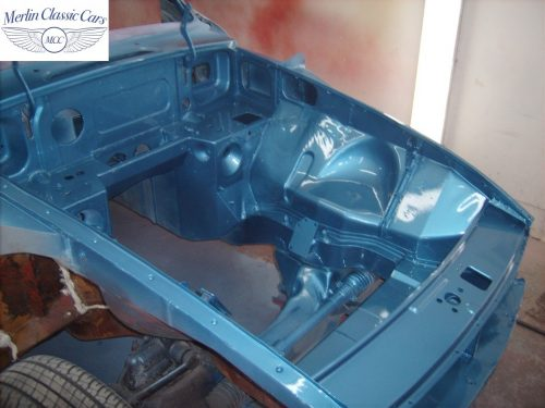 MGB GT Race Car Restoration 1967 39