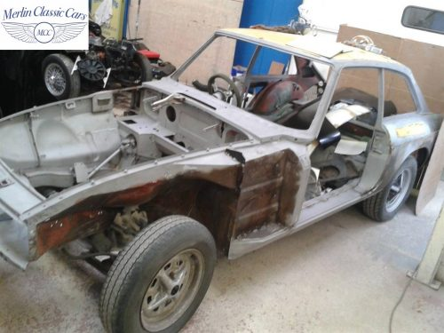 MGB GT Race Car Restoration 1967 4