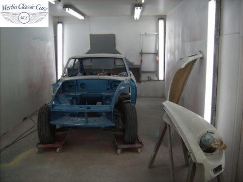 MGB GT Race Car Restoration 1967 40