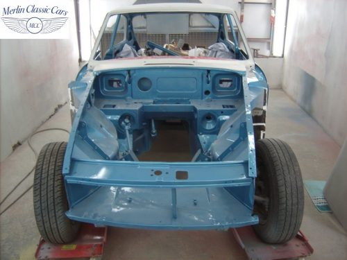 MGB GT Race Car Restoration 1967 41