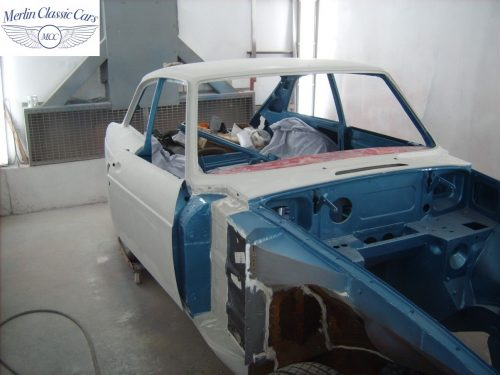 MGB GT Race Car Restoration 1967 42