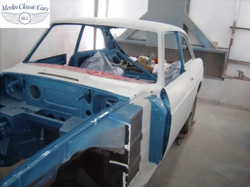 MGB GT Race Car Restoration 1967 43