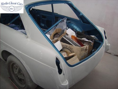 MGB GT Race Car Restoration 1967 44
