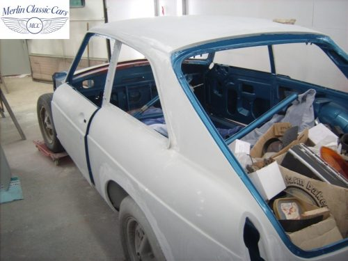 MGB GT Race Car Restoration 1967 45