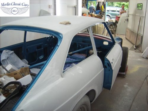 MGB GT Race Car Restoration 1967 46