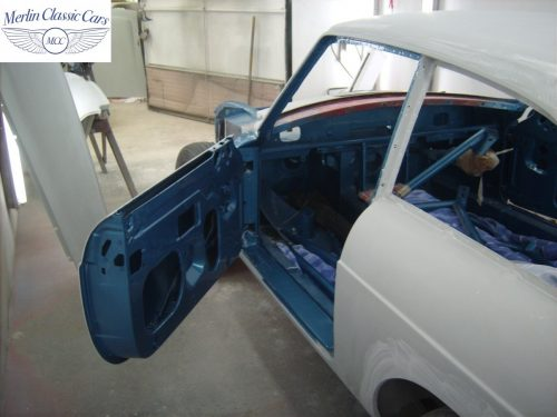 MGB GT Race Car Restoration 1967 48