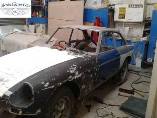 MGB GT Race Car Restoration 1967 5