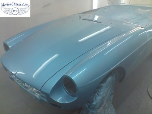 MGB GT Race Car Restoration 1967 54