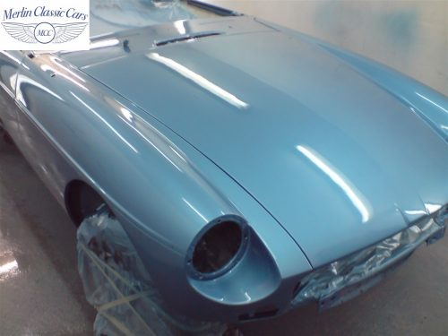 MGB GT Race Car Restoration 1967 56