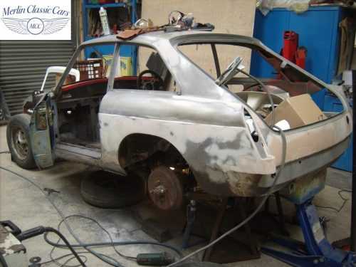 MGB GT Race Car Restoration 1967 6