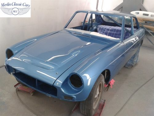 MGB GT Race Car Restoration 1967 60
