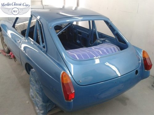 MGB GT Race Car Restoration 1967 63