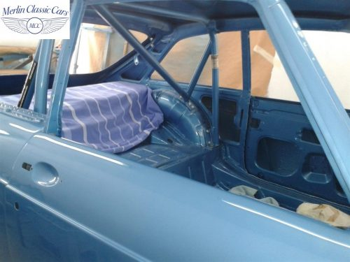 MGB GT Race Car Restoration 1967 65