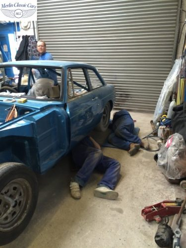 MGB GT Race Car Restoration 1967 66