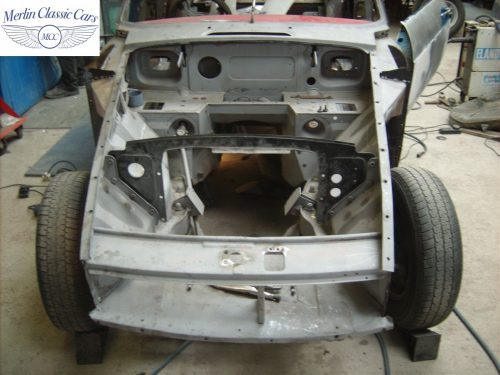 MGB GT Race Car Restoration 1967 7