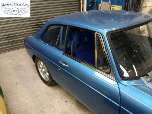 MGB GT Race Car Restoration 1967 74