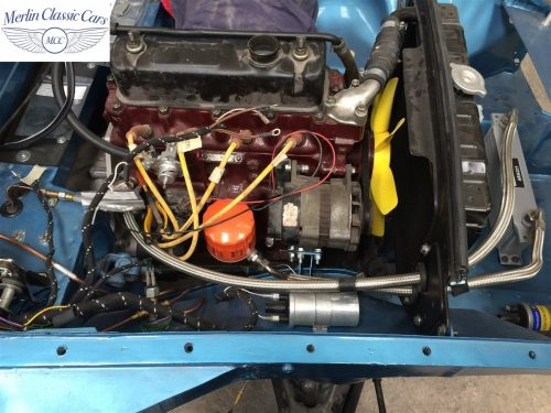 MGB GT Race Car Restoration 1967 76