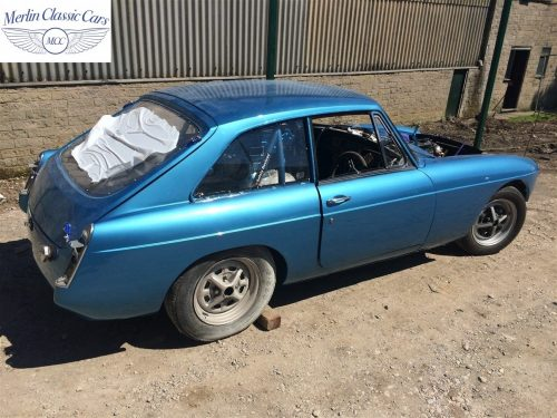 MGB GT Race Car Restoration 1967 79