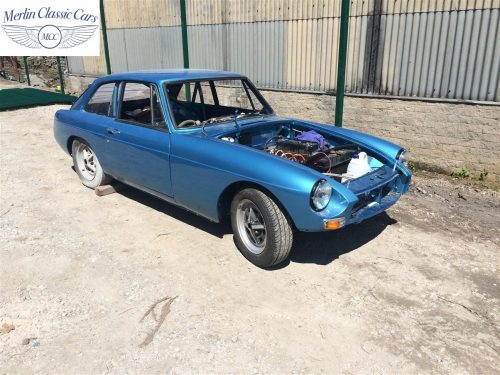 MGB GT Race Car Restoration 1967 80