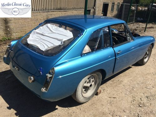 MGB GT Race Car Restoration 1967 82