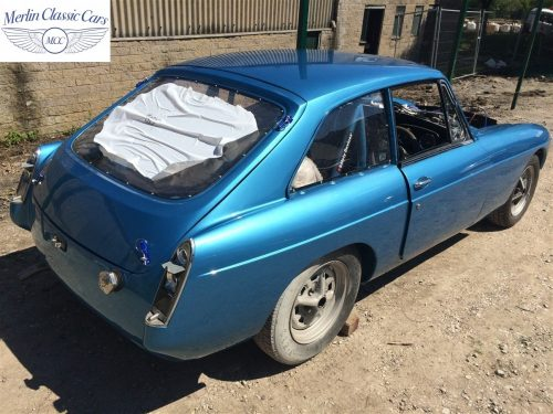 MGB GT Race Car Restoration 1967 83