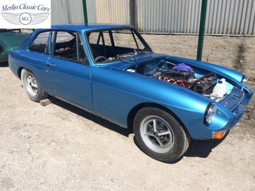 MGB GT Race Car Restoration 1967 84