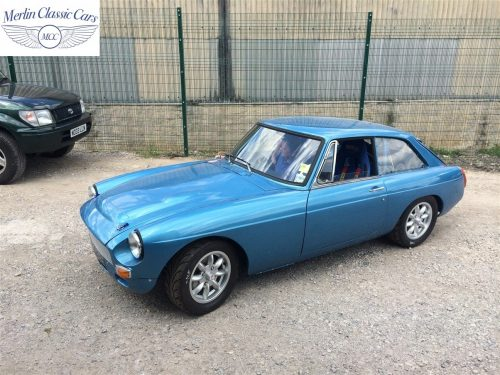MGB GT Race Car Restoration 1967 85