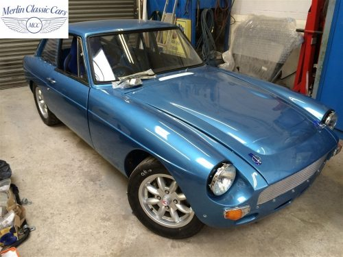 MGB GT Race Car Restoration 1967 86