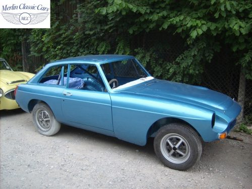 MGB GT Race Car Restoration 1967 87