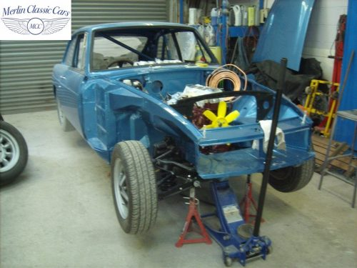 MGB GT Race Car Restoration 1967 88