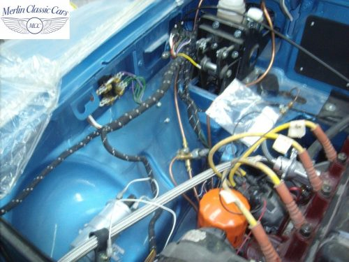 MGB GT Race Car Restoration 1967 89