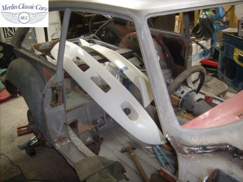 MGB GT Race Car Restoration 1967 9