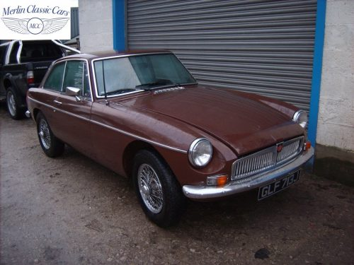 MGB GT Russet Brown Fully Restored 1