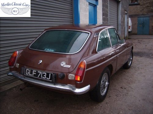 MGB GT Russet Brown Fully Restored 2