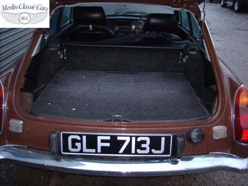 MGB GT Russet Brown Fully Restored 4