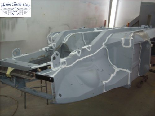 MGB Roadster New Bodyshell Bare Metal Paintwork 1
