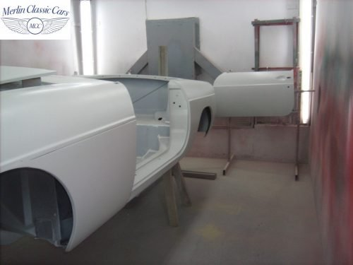 MGB Roadster New Bodyshell Bare Metal Paintwork 11