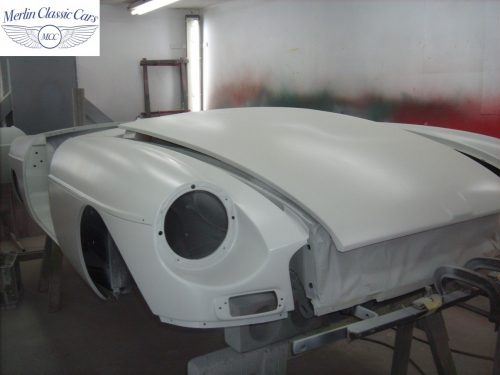 MGB Roadster New Bodyshell Bare Metal Paintwork 12