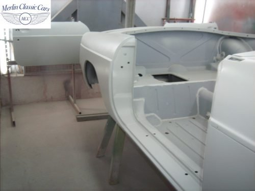 MGB Roadster New Bodyshell Bare Metal Paintwork 13