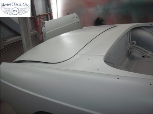 MGB Roadster New Bodyshell Bare Metal Paintwork 14