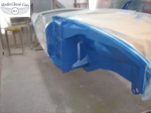 MGB Roadster New Bodyshell Bare Metal Paintwork 17