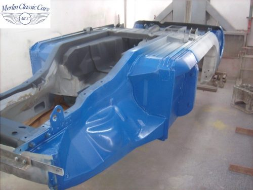 MGB Roadster New Bodyshell Bare Metal Paintwork 19