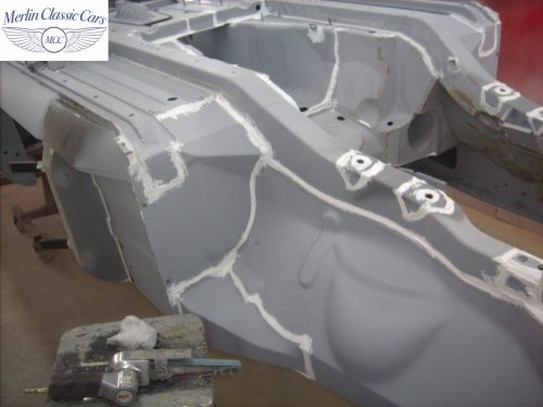 MGB Roadster New Bodyshell Bare Metal Paintwork 2
