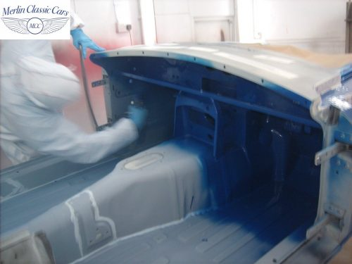 MGB Roadster New Bodyshell Bare Metal Paintwork 22