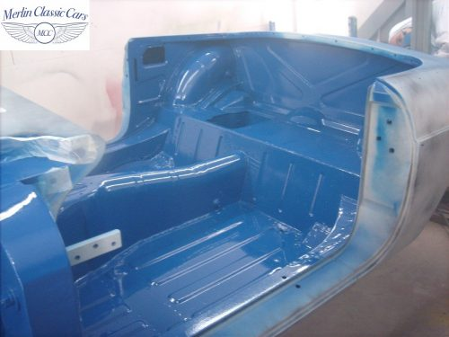 MGB Roadster New Bodyshell Bare Metal Paintwork 24