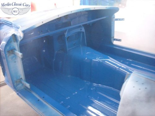 MGB Roadster New Bodyshell Bare Metal Paintwork 27