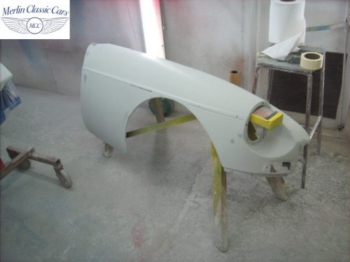 MGB Roadster New Bodyshell Bare Metal Paintwork 29