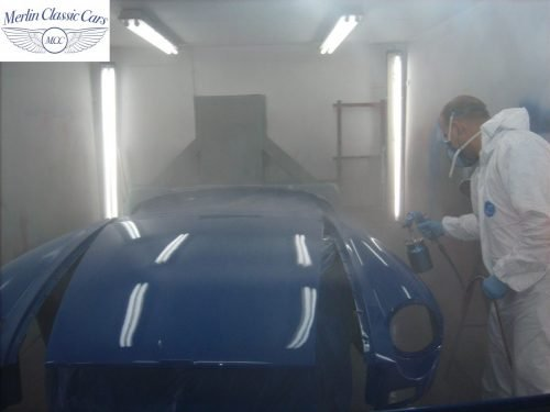 MGB Roadster New Bodyshell Bare Metal Paintwork 35